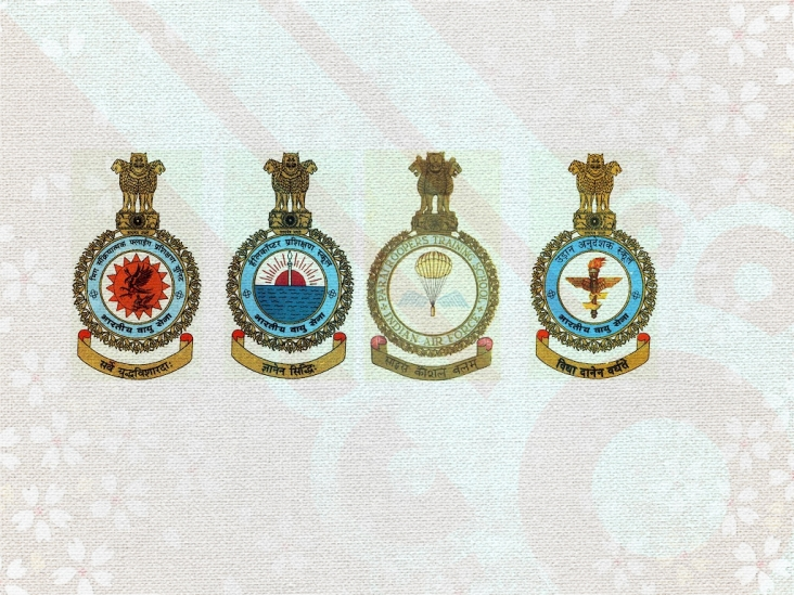 Indian Air Force Training Institutes / Schools Logos