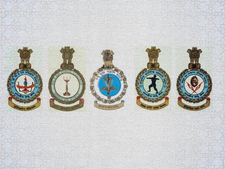 Indian Air Force Training Institutes / Schools Logos