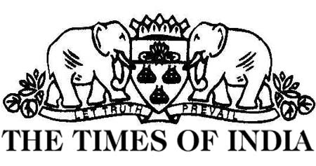 Times of India Masthead
