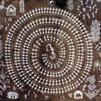 Jivya Soma Mashe -Indian Warli Art