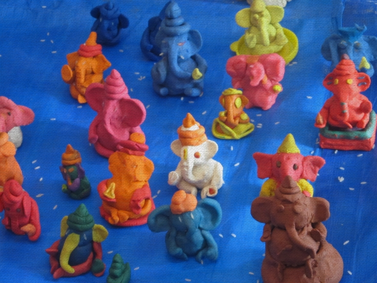 Ganesha Festival Clay Model Workshop .JPG