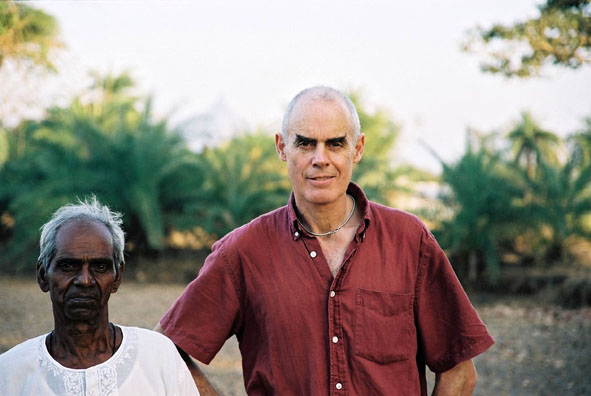 Jivya Mashe and Richard Long