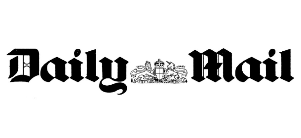 Daily Mail UK Masthead Logo of Newspapers