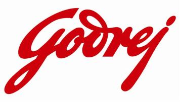 Godrej Logo Design in Red