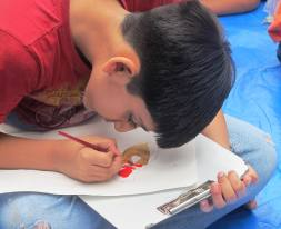 Kids Drawing ART Zero Creatvity Photography